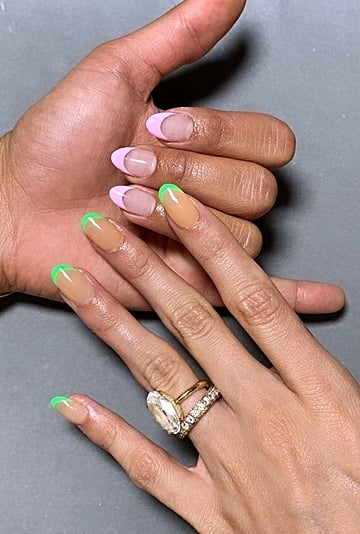 Celebrity French Manicure Trend To Try in 2020