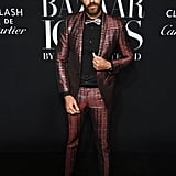 Christian Bendek at the Harper's Bazaar ICONS Party