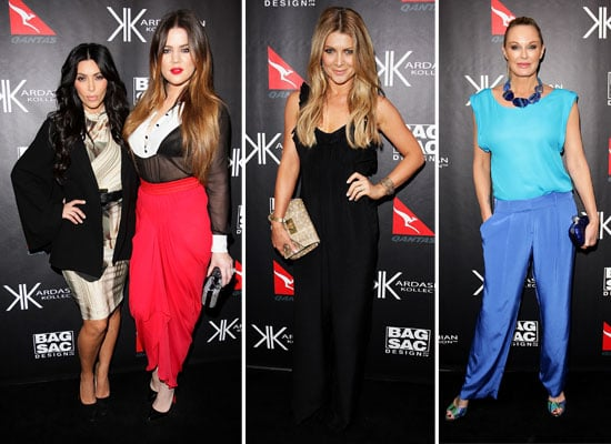 Pictures of Kim Kardashian and Khloe Kardashian In Australia for Kardashian Kollection Handbag Launch in Sydney: Our Interview!