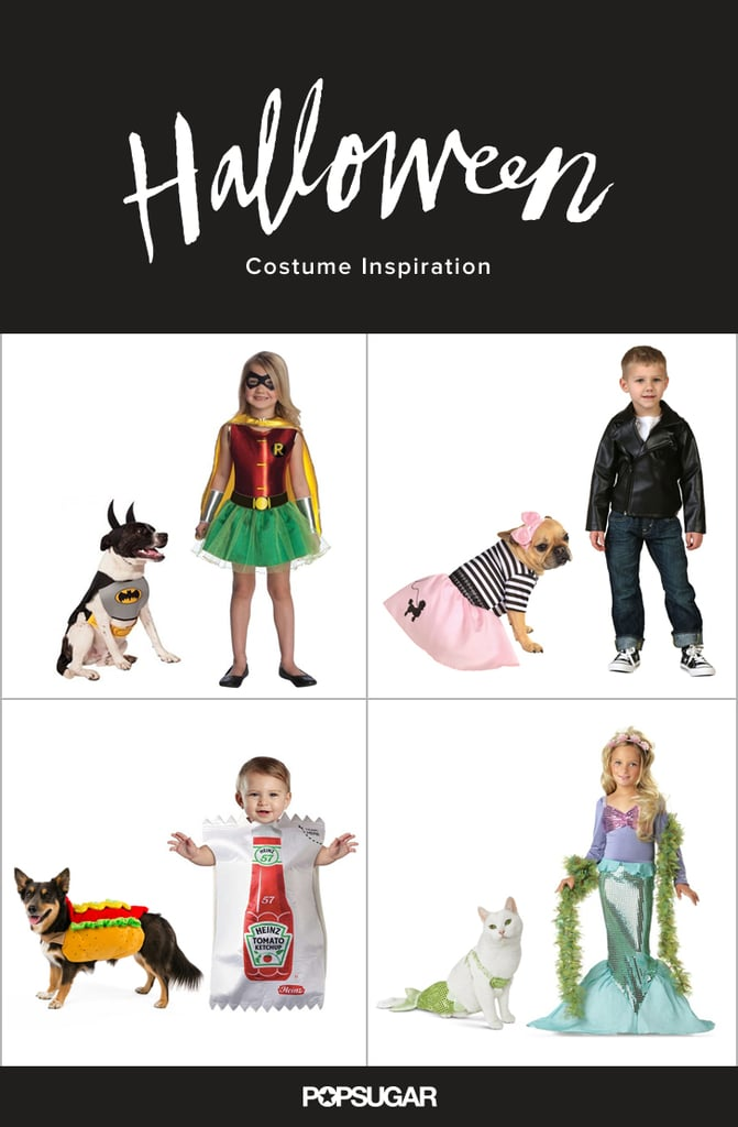 halloween costumes for kids and their pet dogs