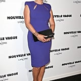 Kate Winslet looked stunning at a Lancome party during Haute Couture Fashion Week in Paris on Wednesday.