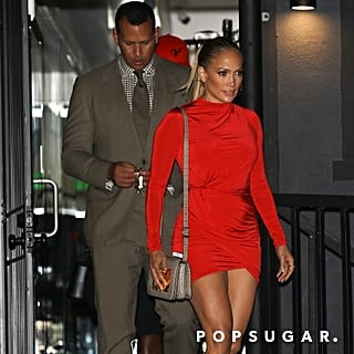Jennifer Lopez's Red Minidress 2018