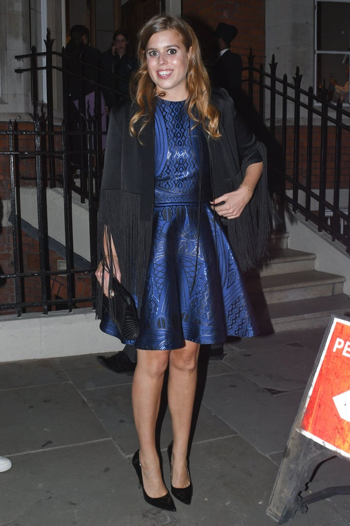 Princess Beatrice's Fringe Jacket October 2018