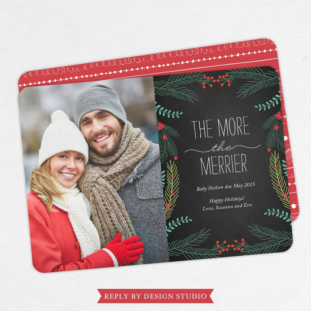 A Holiday Card or Newsletter