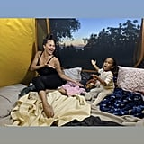Chrissy Teigen and Luna Went Camping in the Backyard
