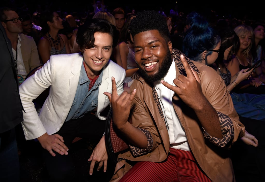 Cole Sprouse and Khalid