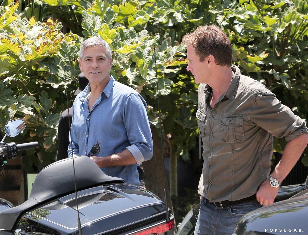 George Clooney Won't Let Wedding Rumors Get Him Down