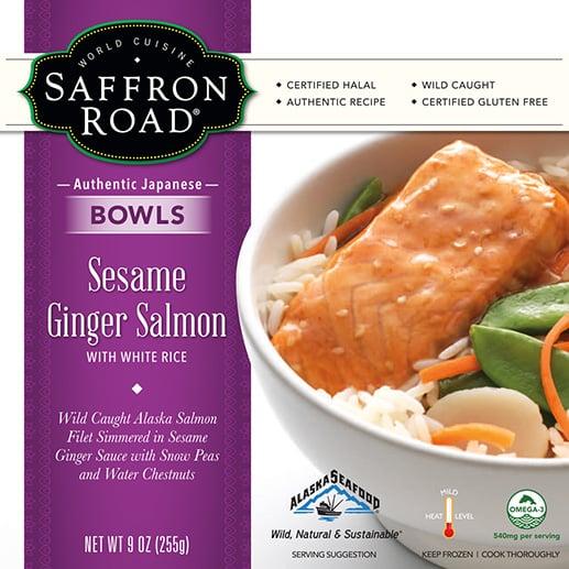 Saffron Road Sesame Ginger Salmon Bowl