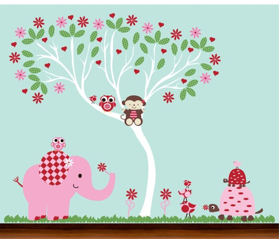 Whimsey Wall Art Vinyl Decal