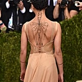 The Way FKA Twigs's Versace Dress Showed Off Her Tattoo