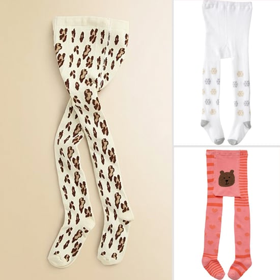 Perfect Printed Tights For Winter Weather