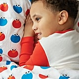 Elmo and Cookie Monster Organic Twin Sheet Set ($63, originally $79)