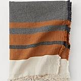 Linen-Blend Throw