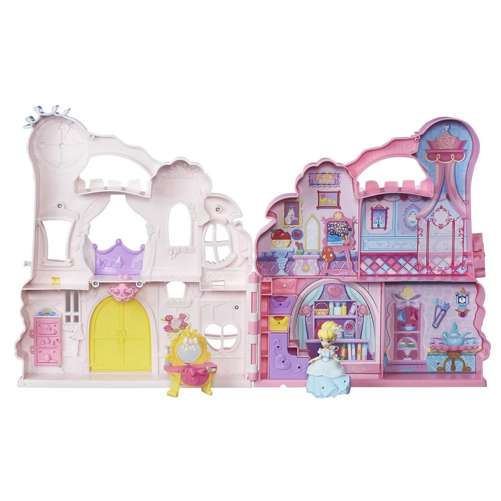 For 4-Year-Olds: Disney Princess Play N Carry Castle Doll