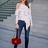 Skinny jeans are just the right proportion denim to style with your most interesting of statement tops, all year round.