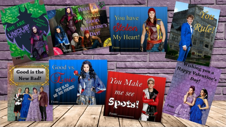 Disney Descendants Valentines Disney Valentines Day