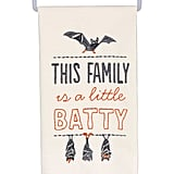 Primitives by Kathy A Little Batty Dishtowel