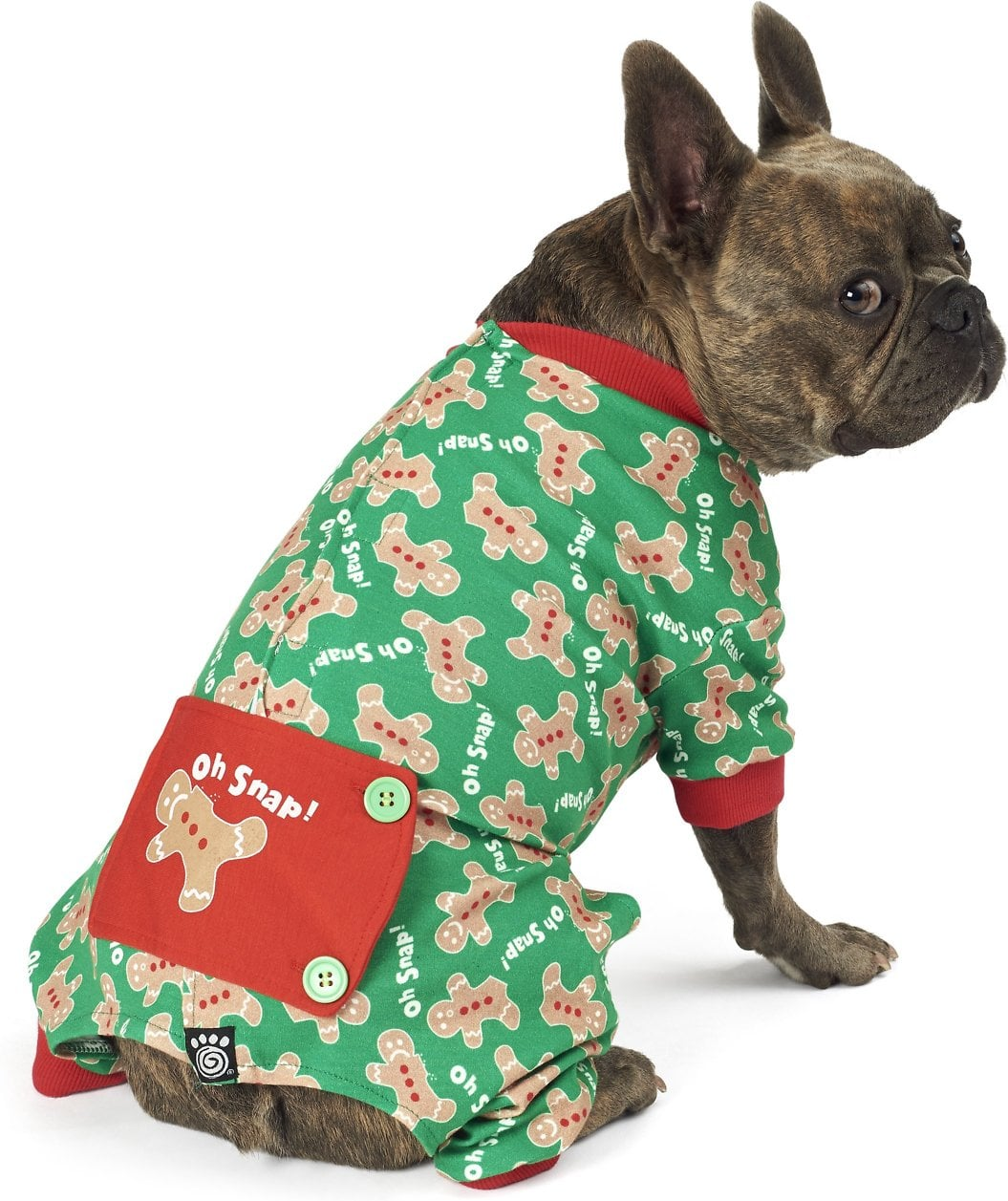 Christmas Pajamas For Dog.Petrageous Designs Oh Snap Gingerbread Dog Pajamas You Ll