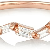 Suzanne Kalan 18-Karat Rose Gold Diamond Ring ($1,000)