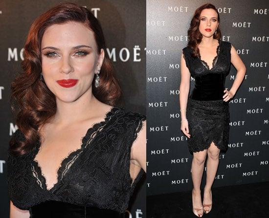 Scarlett Johansson at Moet Event in London