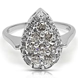 Bright Society Signature 14k White Gold Diamond Ring