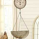 Metal Wall Scale Clock ($100)