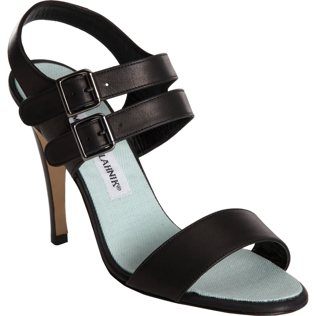 Every woman we know could stand to have another pair of classic black sandals in her closet. These Manolo Blahniks ($309, originally $775) fit the bill quite nicely.