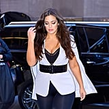 Ashley Graham Wearing Leggings