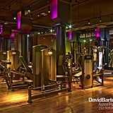 If you're working out at New York's Astor Place locale, it's probably to the tunes of a live DJ.