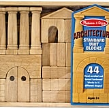 Melissa & Doug Architectural Wood Blocks