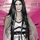 Real Housewife of New York Alex McCord is a vision in white at the 2011 Pop Art Halloween Party.