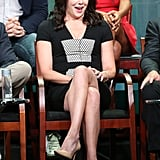 Lauren Graham was a the panel for Parenthood.