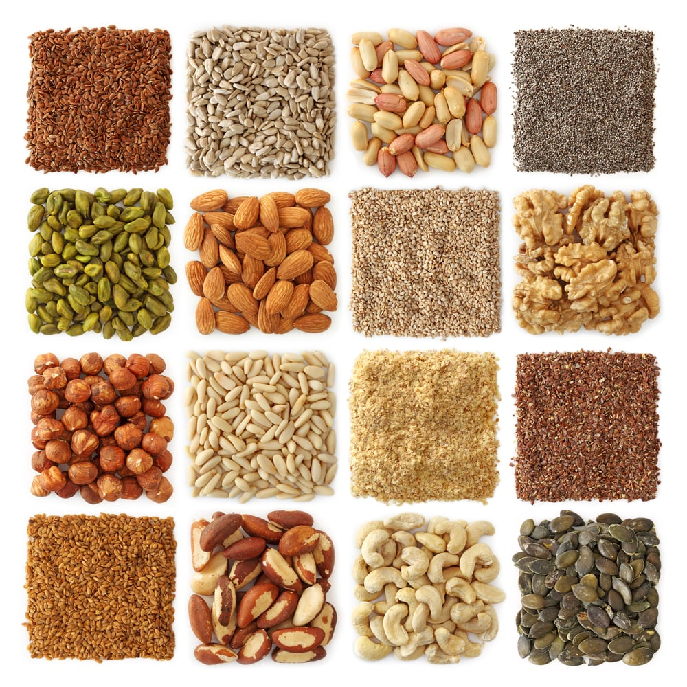 Desk Drawer Snacks: Raw, Unsalted Nuts & Seed Mixes
