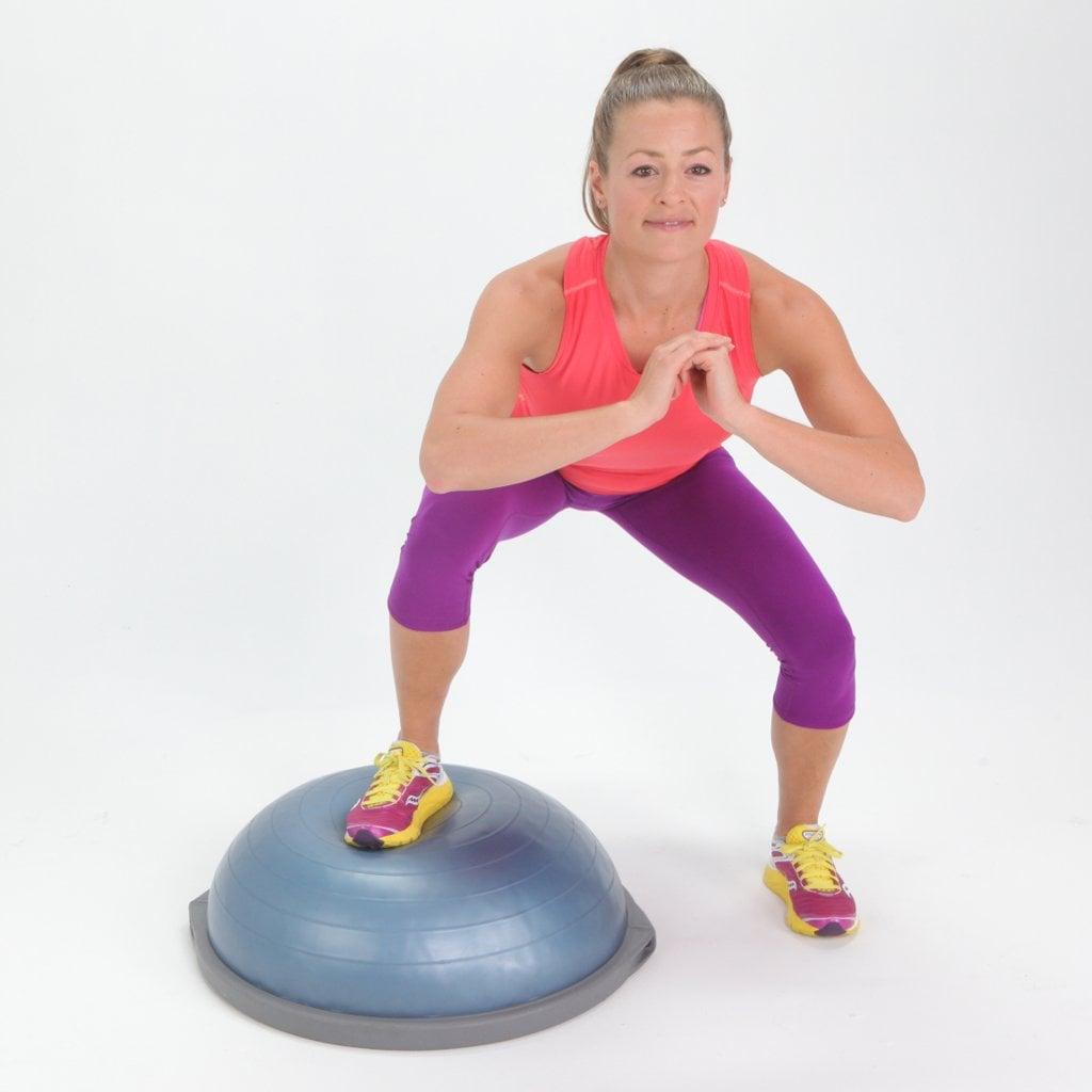 Bosu Ball Ankle Exercises: POPSUGAR Fitness Australia