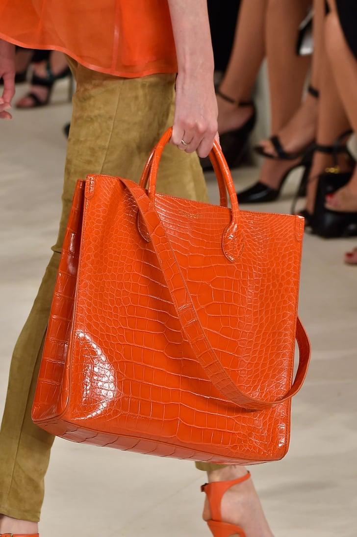 Ralph Lauren Spring 2015 | Spring Bag Trends 2015