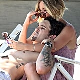 Kaley Cuoco and Ryan Sweeting on Memorial Day 2014