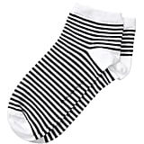 Striped Bootie Sock