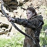 Ygritte takes aim.