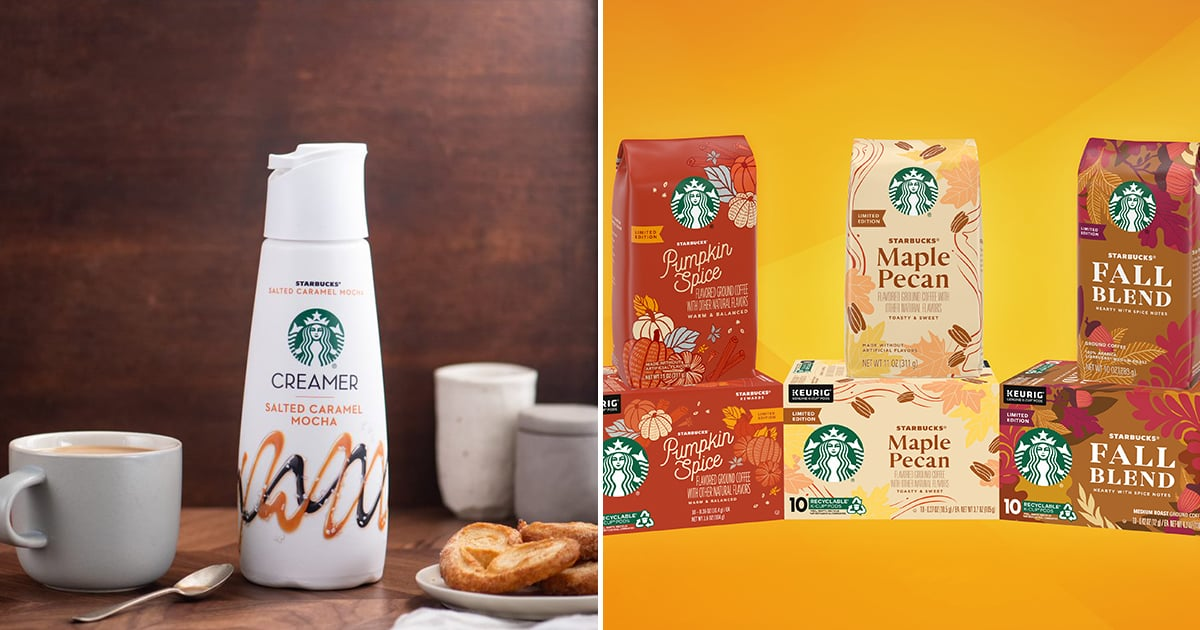 Starbucks Just Released a Salted Caramel Mocha Creamer to Get You in the Fall Mood