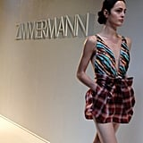 We fell in love with this print-on-print look from Zimmermann's Resort collection.