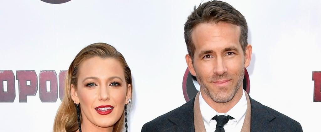 Blake Lively Drove Ryan Reynolds to Hospital Giving Birth