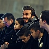 Victoria Beckham Has the Support of Her Ridiculously Good-Looking Family at NYFW