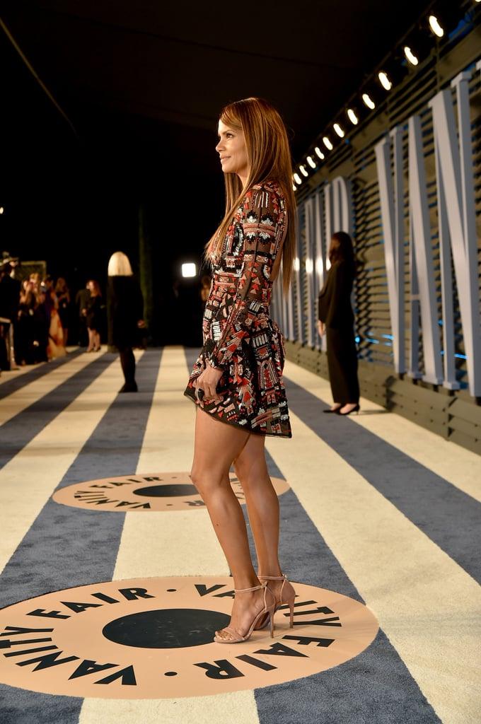 Halle Berry Vanity Fair Oscars Party Dress 2018