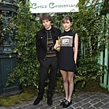 Natalia Dyer and Charlie Heaton at Dior Show in Paris 2018