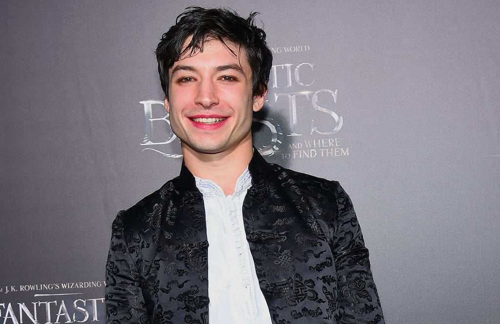 Ezra Miller Reacts to Not Having a Wand in Fantastic Beasts