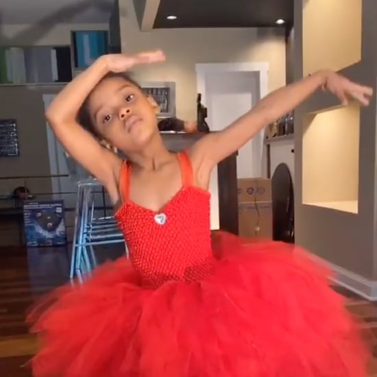 Video of Girl Dancing to Beyoncé's Song in Black Is King