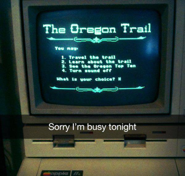 Oregon Trail and Chill