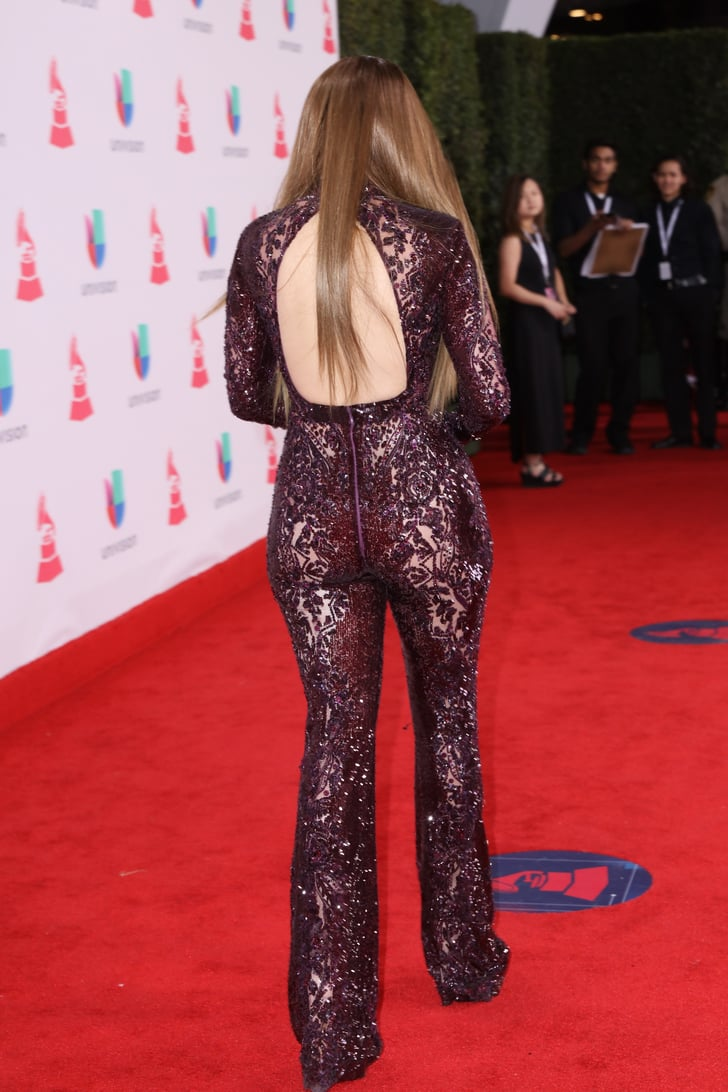 Jennifer Lopez S Naked Jumpsuit At Latin Grammy Awards