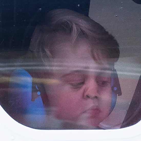 Prince William and Prince George Breaking Royal Protocol