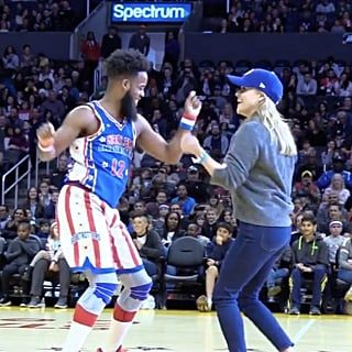 Reese Witherspoon Dancing With Harlem Globetrotters Video